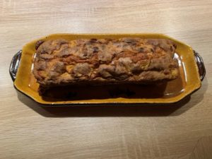 cake pomme-safran