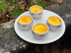 recette au safran : crème aux oeufs