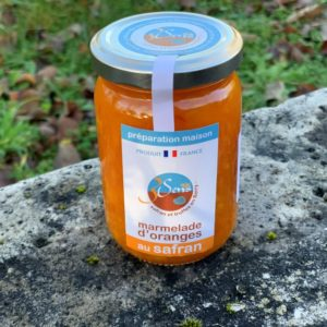 Marmelade orange-safran