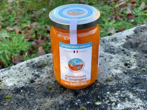 Marmelade d' oranges-safran