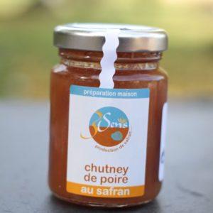 chutney poires-safran