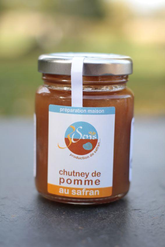 chutney pommes-safran