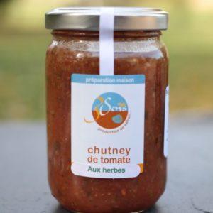chutney tomates-herbes