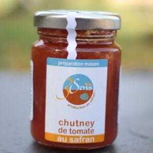 chutney tomates-safran